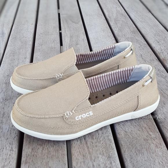 CROCS Shoes | Crocs Womens Walu Canvas